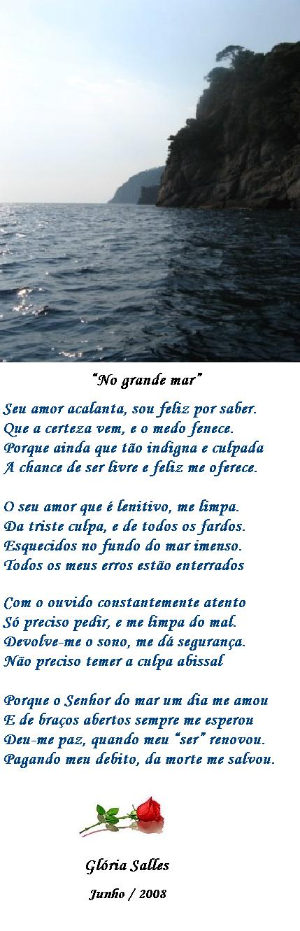 """"""" No grande mar"""""""