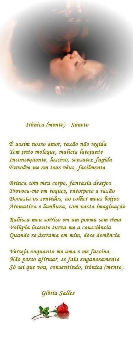"""""""Ironica (mente)"""" - Soneto"""