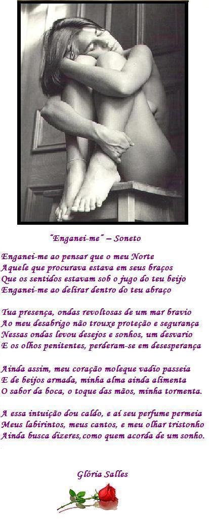 """Enganei-me"" - Soneto"