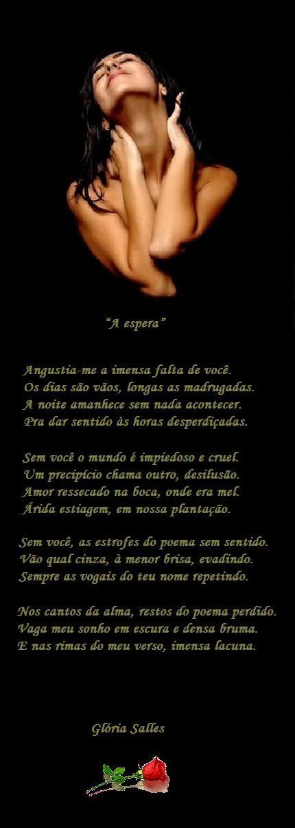 """A espera"" - Soneto"