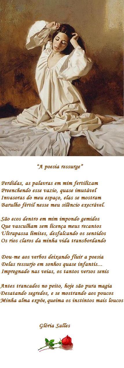 """A poesia ressurge"" - Soneto"